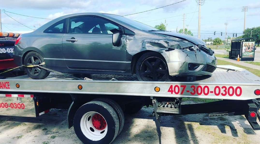 Accident Recovery Towing Service Near Me